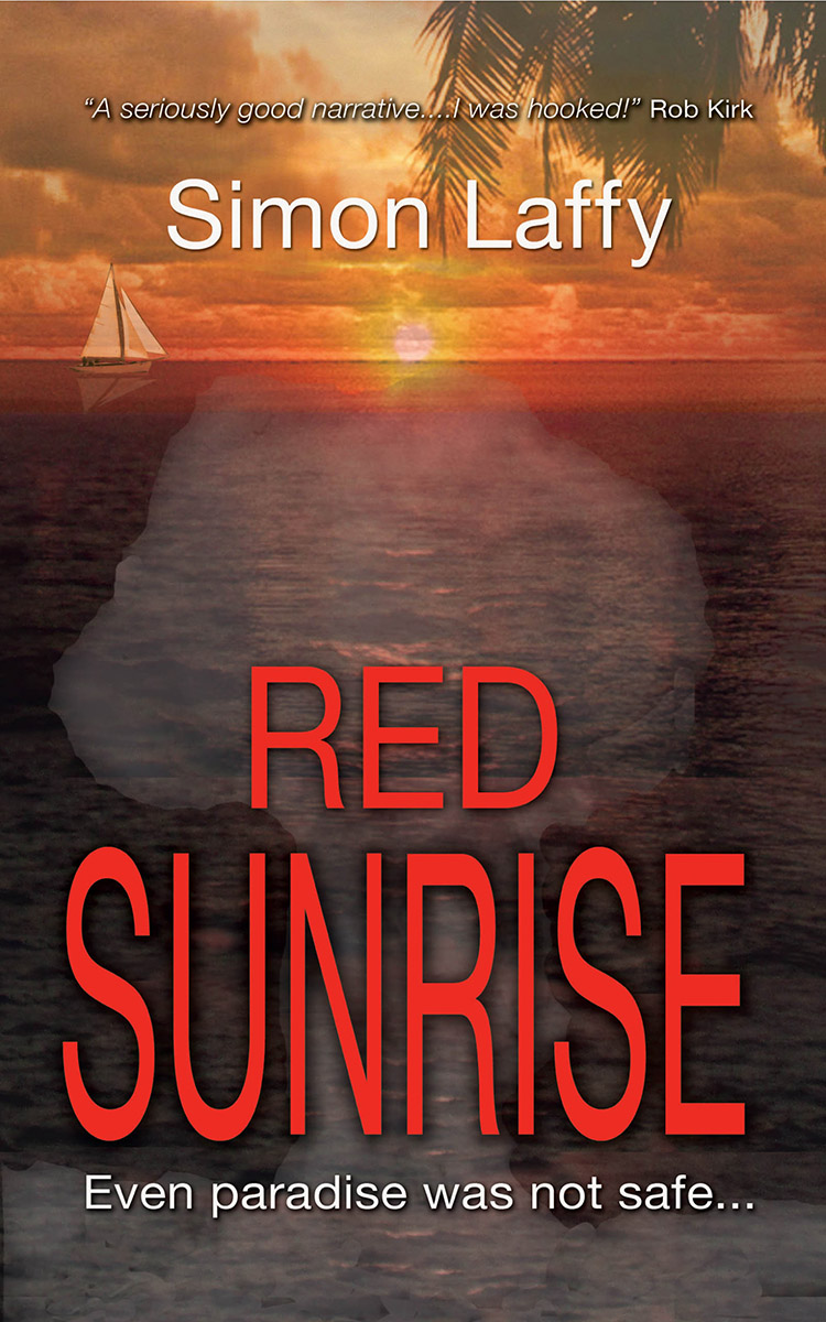 Red Sunrise by Simon Laffy